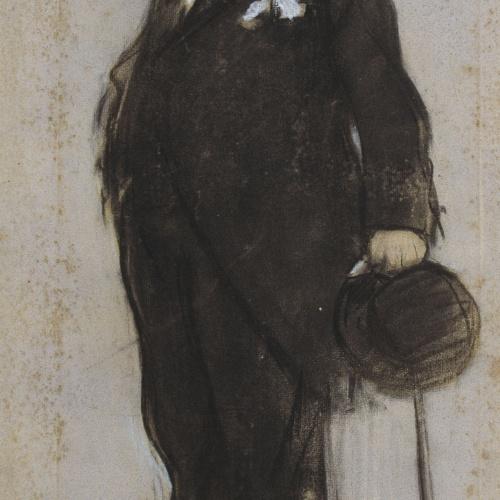 Ramon Casas - Retrato de Francesc Maspons - Hacia 1897-1899