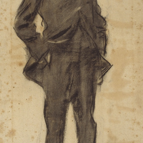 Ramon Casas - Retrato de Ezequiel Boixet - Hacia 1897-1899
