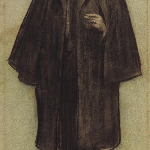 Ramon Casas - Retrato de Narcís Oller - Hacia 1897-1898