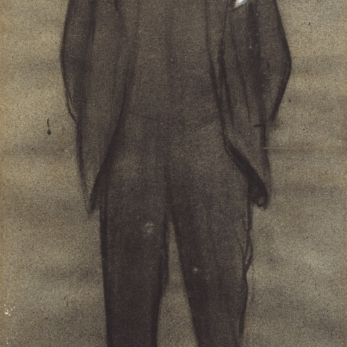 Ramon Casas - Portrait of Albert Bernís - Circa 1897-1899