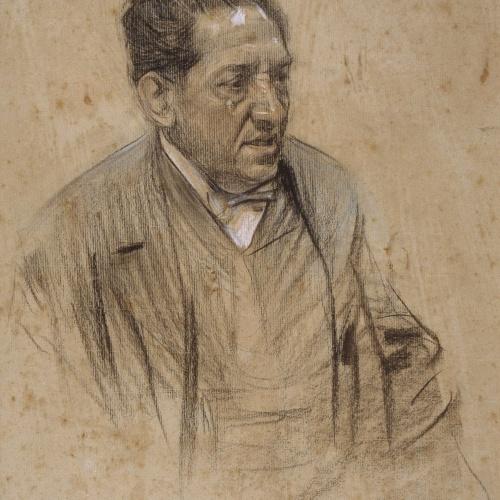 Ramon Casas - Retrato de Iscle Soler - Hacia 1904-1905