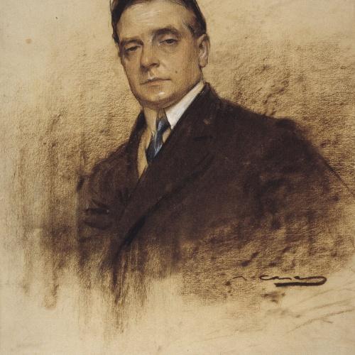 Ramon Casas - Retrato de Enric Borràs - Hacia 1904-1905