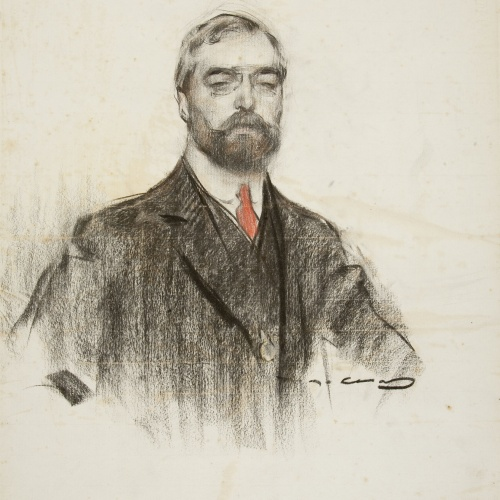 Ramon Casas - Retrato de Joaquim Casas i Carbó - Hacia 1906