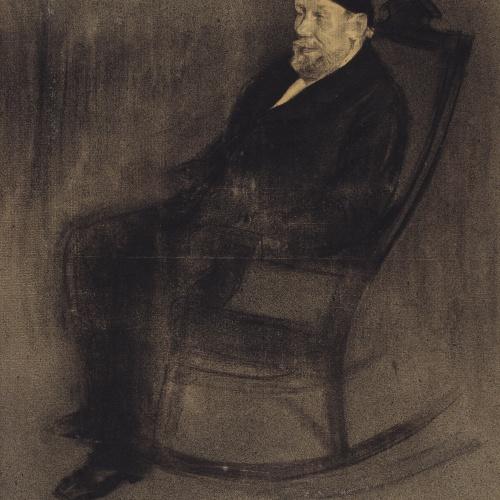 Ramon Casas - Portrait of Joan Mañé i Flaquer - Circa 1897-1899