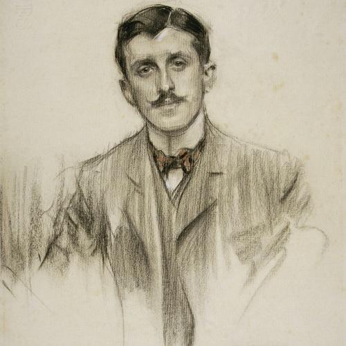 Ramon Casas - Portrait of Joaquín Álvarez Quintero - 1904