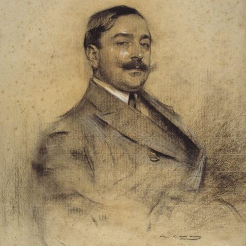 Ramon Casas - Retrato de Manuel Bueno - Hacia 1904-1905