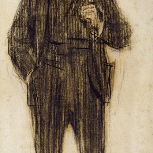 Ramon Casas - Retrato de Pío Baroja - Hacia 1904-1905