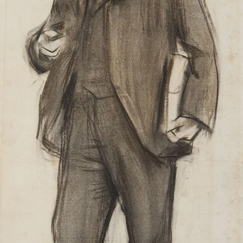 Ramon Casas - Portrait of Josep Roca i Roca - Circa 1900