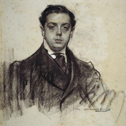 Ramon Casas - Retrato de Joaquim Salvatella - Hacia 1906