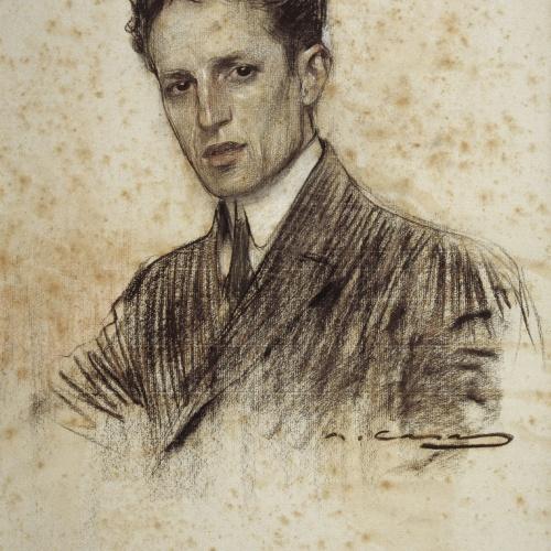 Ramon Casas - Retrato de Felip Rodés - Hacia 1906
