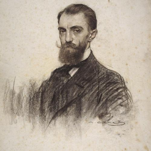 Ramon Casas - Retrato de Joan Moles - Hacia 1906
