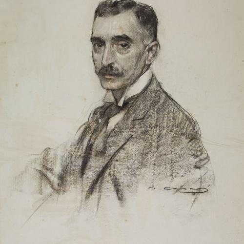 Ramon Casas - Portrait of Francesc Macià - Circa 1906