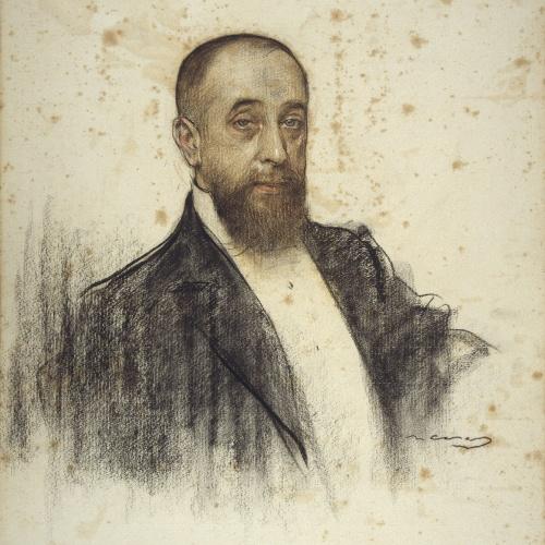 Ramon Casas - Portrait of Frederic Rahola - Circa 1906