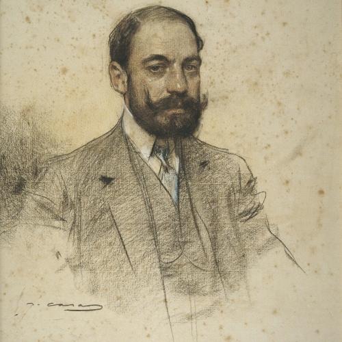 Ramon Casas - Portrait of Pere Rahola - Circa 1906-1908