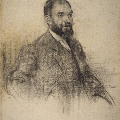 Ramon Casas - Retrato de Bartomeu Amengual - Hacia 1905