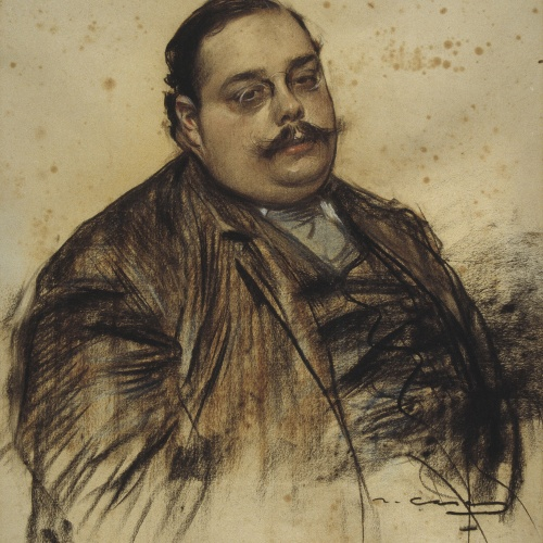 Ramon Casas - Portrait of Albert Roquer - Circa 1902-1903