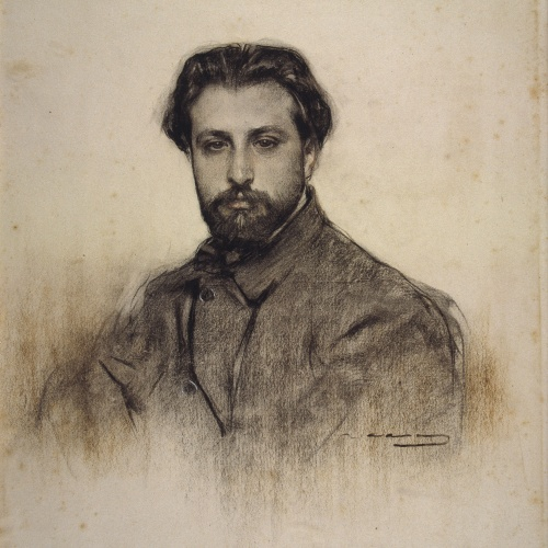 Ramon Casas - Retrato de Joan Manén - Hacia 1903