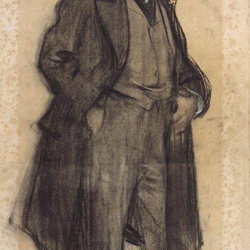 Ramon Casas - Portrait of Celestí Sadurní - Circa 1900-1901