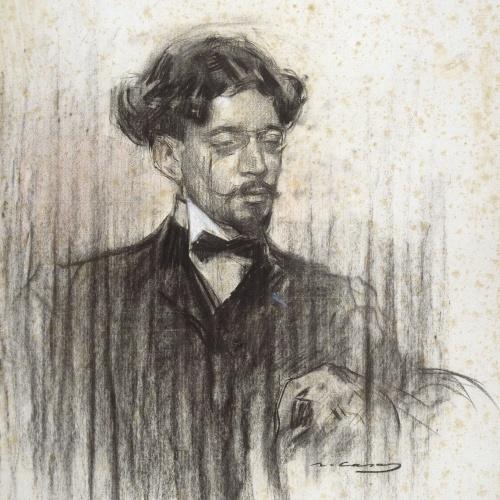 Ramon Casas - Retrato de Joan Pujal - Hacia 1903-1905