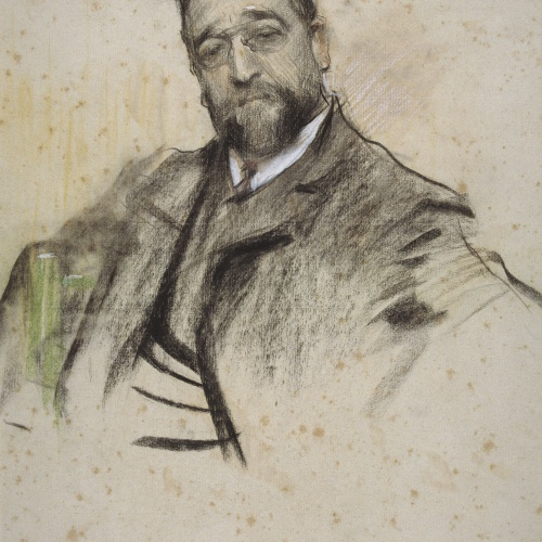 Ramon Casas - Portrait of Ruperto Chapí - 1904