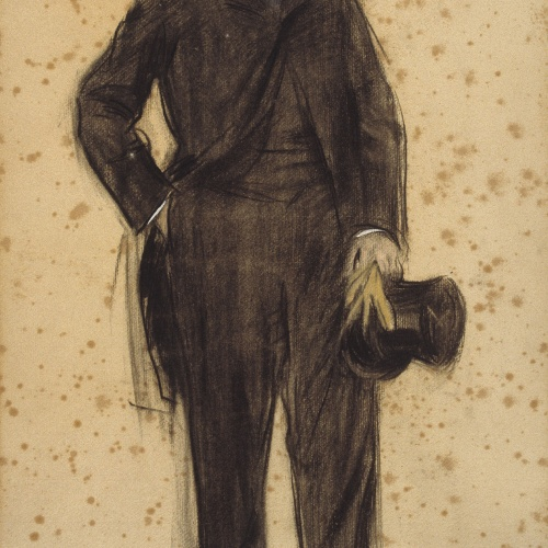 Ramon Casas - Portrait of Joaquim Cabot - 1900