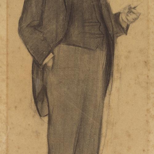 Ramon Casas - Retrato de Manuel Duran i Ventosa - Hacia 1897-1899
