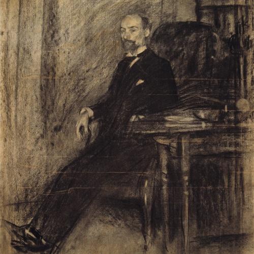 Ramon Casas - Retrato de Francesc de Sojo - 1900
