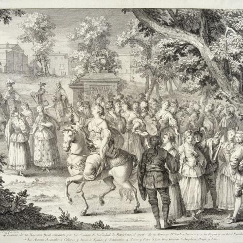 A.J. Defehrt - Comitiva de l'Aurora - 1764