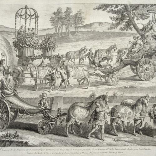 A.J. Defehrt - Carro d'Apol·lo - 1764