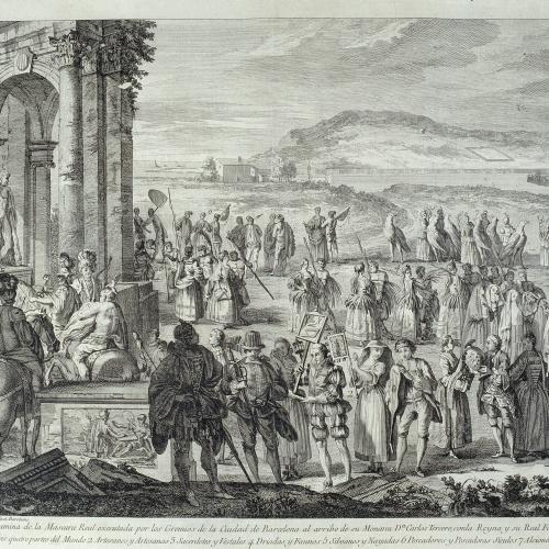 A.J. Defehrt - Comitiva de Janus - 1764
