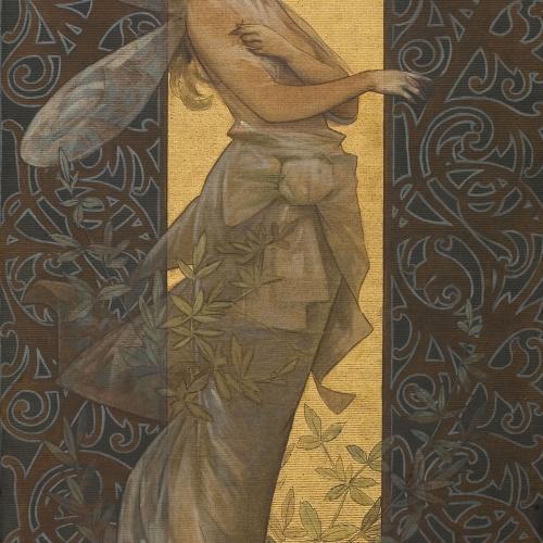 Alexandre de Riquer - Figura femenina alada - 1887