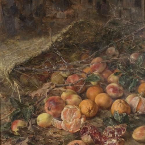 Julia Alcayde - Natura morta - 1891