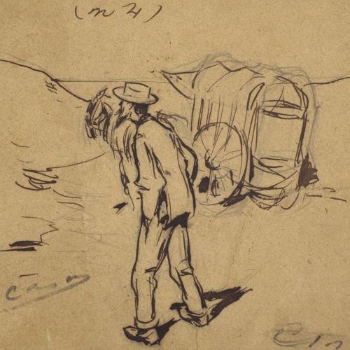 Ramon Casas - On som! (Where are we?) - 1892