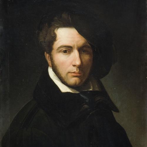 Josep Arrau Barba - Còpia de l'«Autoretrat» del pintor Giuseppe Molteni - Cap a 1831-1832