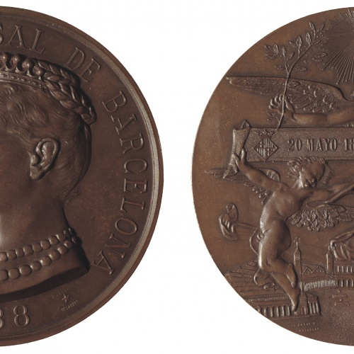 Eusebi Arnau - Exposición Universal de Barcelona. Inauguración oficial - 1888