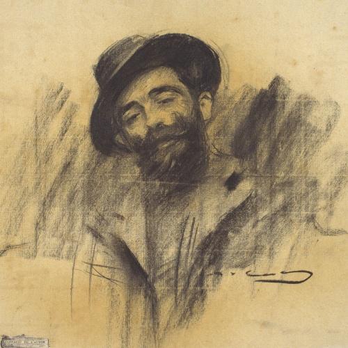 Ramon Casas - Portrait of Eliseu Meifrèn - Circa 1902
