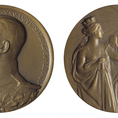 Antoni Parera - XXV Aniversari del regnat d'Alfons XIII - 1927
