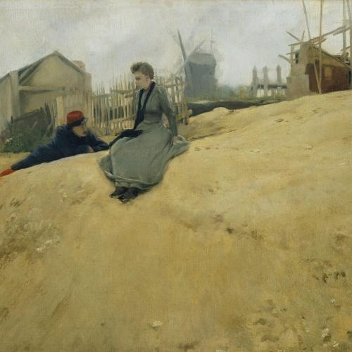 Santiago Rusiñol - On Campaign - Paris, 1891