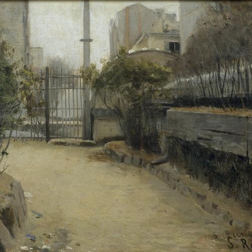 Santiago Rusiñol - Jardí de Montmartre - 1890-1891