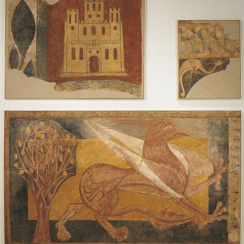 Anònim. Castella - Pintures d'Arlanza - Cap a 1210