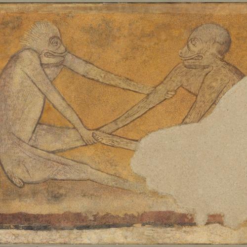 Anònim. Castella - Parella de simis d'Arlanza - Primer quart del segle XIII