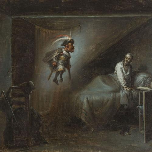 Leonardo Alenza - El diablo cojuelo. Aparició - 1838