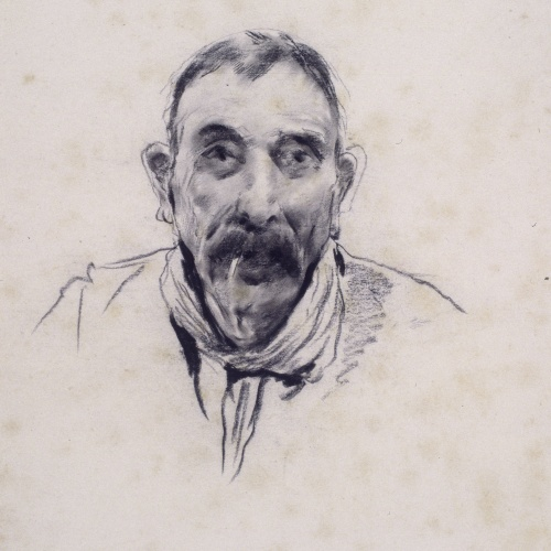 Santiago Rusiñol - Portrait of a Man - Circa 1890-1895
