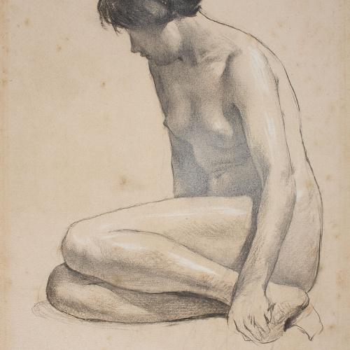 Josep Llimona - Nu femení - 1914
