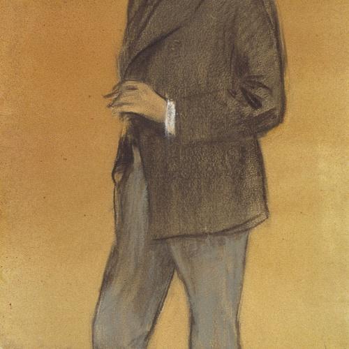 Ramon Casas - Retrat de Leandre Galceran - Cap a 1897-1899