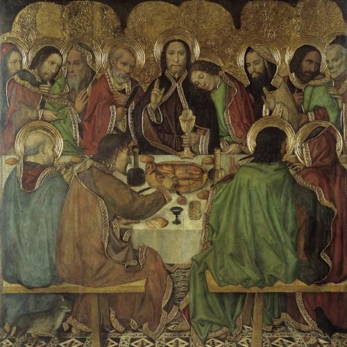 Jaume Huguet - Sant Sopar - Cap a 1463-1470/1475