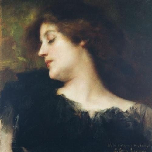 Francesc Masriera - Female Bust - 1897