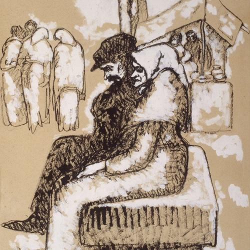 Isidre Nonell - Pedrís (Stone bench) - Circa 1909-1911