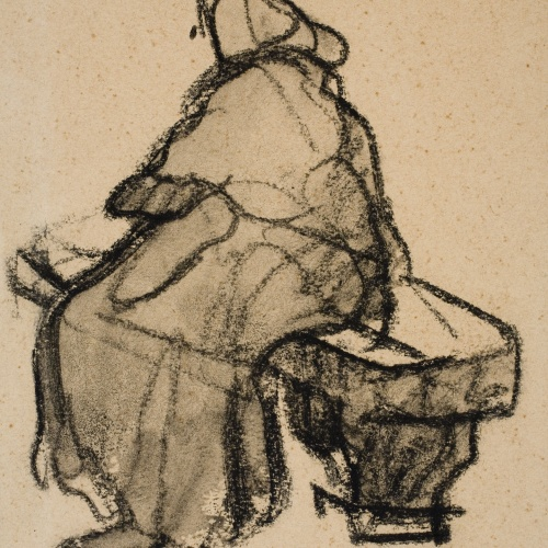 Isidre Nonell - Woman seated - Circa 1909-1911