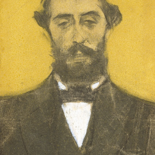 Ramon Casas - Retrat de Pere Romeu - Cap a 1897-1898